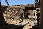 16 cảnh sát Afghanistan thiệt mạng trong vụ không kích của Mỹ
