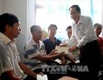 Chủ tịch Ủy ban Trung ương MTTQ Việt Nam thăm các gia đình người có công tại Nghệ An