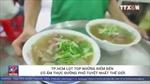TP Hồ Chí Minh lọt top điểm đến có ẩm thực đường phố tuyệt nhất thế giới