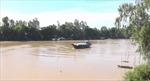 Triều cường và lũ thượng nguồn khiến mực nước ở Đồng Tháp lên nhanh