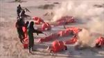 Tướng Libya gây tranh cãi vì 'bắt chước' kiểu hành quyết man rợ của IS