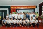 Chuyên gia dinh dưỡng thể thao làm việc với các VĐV Việt Nam thi đấu tại SEA Games 29