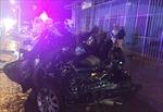 Bình Thuận: Xe công an bị xe tải đâm, 2 cán bộ tử vong
