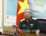 Thượng tướng Nguyễn Chí Vịnh tiếp Phó Tổng cục trưởng Tổng cục An ninh - Quân sự Myanmar