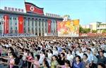 Biển người Triều Tiên đổ về quảng trường Kim Nhật Thành ủng hộ chính quyền