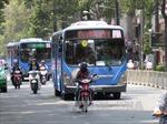 TP Hồ Chí Minh phát triển xe buýt để giảm ùn tắc giao thông