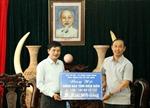 Ngành giao thông trao 200 triệu đồng ủng hộ Điện Biên khắc phục thiên tai