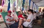 """550 đơn vị máu hiến tặng tại chương trình """"Hạ Hồng"""""""
