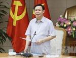 Phó Thủ tướng Vương Đình Huệ: Đẩy nhanh tiến độ bán vốn theo tình hình thị trường