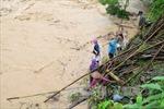 Vẫn chưa tìm thấy 2 người bị lũ cuốn mất tích tại Điện Biên