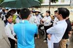 Công nhân Công ty TNHH TPS Việt Nam đã đi làm trở lại