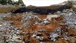 Hà Tĩnh thi công kênh Hồng Tân làm sụt lún đường cứu hộ Khe Hao