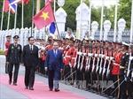 Thủ tướng Nguyễn Xuân Phúc dự lễ đón, hội đàm với Thủ tướng Thái Lan