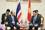 Thủ tướng Nguyễn Xuân Phúc gặp Tỉnh trưởng Nakhon Pathom, Thái Lan