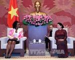 Chủ tịch Quốc hội tiếp Đại sứ CH Cuba và Tổng Chưởng lý CH Mozambique