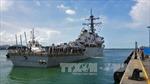 Mỹ đã xác định vị trí thi thể các thủy thủ mất tích sau vụ va chạm tàu khu trục