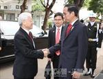 Tổng thống Indonesia tổ chức trọng thể lễ đón Tổng Bí thư Nguyễn Phú Trọng