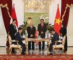 Việt Nam và Indonesia ký kết nhiều văn kiện hợp tác