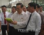 Phó Chủ tịch Quốc hội Phùng Quốc Hiển làm việc tại tỉnh Thái Bình