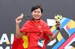 Trang Cẩm Lành giành HCB karatedo