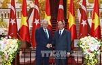 Thủ tướng Thổ Nhĩ Kỳ  thăm chính thức Việt Nam và hội đàm với Thủ tướng Nguyễn Xuân Phúc