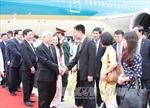 Lễ đón chính thức Tổng Bí thư Nguyễn Phú Trọng tại Myanmar