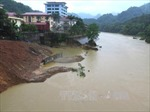 Hà Giang  tiếp tục mưa to, nước dâng cao, giao thông sạt lở