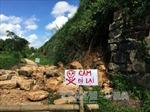 Sạt lở tại di sản Thành nhà Hồ sau bão số 10