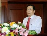 Chủ tịch Ủy ban Trung ương MTTQ Việt Nam làm việc tại Hải Phòng