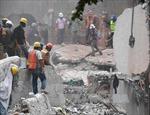 Hơn 50 người vẫn mắc kẹt trong các tòa nhà bị sập tại Mexico