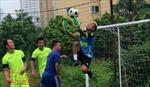 Sôi động giải bóng đá Cúp Tứ Hùng 2017 Thông tấn xã Việt Nam