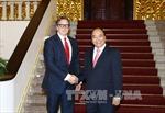 Thủ tướng Nguyễn Xuân Phúc tiếp Chủ tịch Quỹ đầu tư Hoa Kỳ