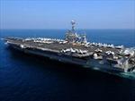 Iran sẽ hành động nếu tàu sân bay Mỹ quay lại vùng Vịnh