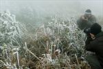 Mẫu Sơn xuất hiện băng tuyết