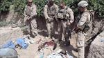 Dư luận phẫn nộ về đoạn băng lính Mỹ tiểu tiện lên xác các tay súng Taliban