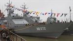 Tàu chiến đầu tiên do Việt Nam sản xuất