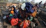 Ấn Độ : Cháy khu nhà ổ chuột