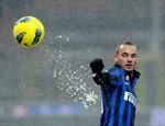 Chấn thương của Wesley Sneijder không quá nghiêm trọng