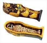 """Người đàn ông """"mê""""... quan tài Ai Cập"""