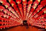 Rực rỡ lễ hội đèn lồng ở Trung Quốc
