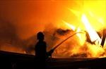 Cháy xưởng gỗ thiệt hại trên 1 tỷ đồng