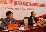 Đình chỉ công tác một số cán bộ huyện Tiên Lãng