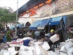 Lửa tiếp tục bao trùm chợ trung tâm Quảng Ngãi