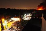 Cháy lớn tại Công ty P&G Bình Dương