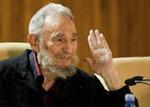 Lãnh tụ Fidel Castro gặp gỡ các nhà trí thức nổi tiếng thế giới