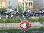 Phát hiện xác thai phụ bên sông Tô Lịch