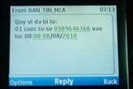Dịch vụ thông báo cuộc gọi nhỡ (MCA)