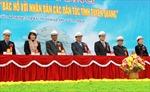 """Khởi công xây dựng tượng đài """"Bác Hồ với nhân dân các dân tộc tỉnh Tuyên Quang"""""""