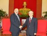 Tổng Bí thư Nguyễn Phú Trọng tiếp Chủ tịch Ủy ban Bảo vệ Cách mạng Cuba