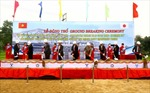 """Động thổ Dự án """"Nâng cao an toàn cầu đường sắt trên tuyến Hà Nội – TP HCM"""""""